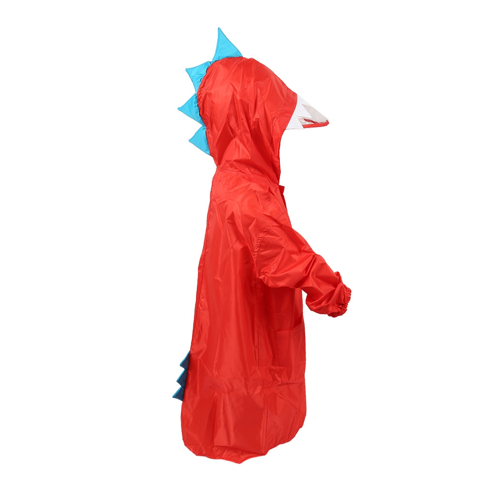 Small Dinosaur Polyester Baby Raincoat Children Rainwear