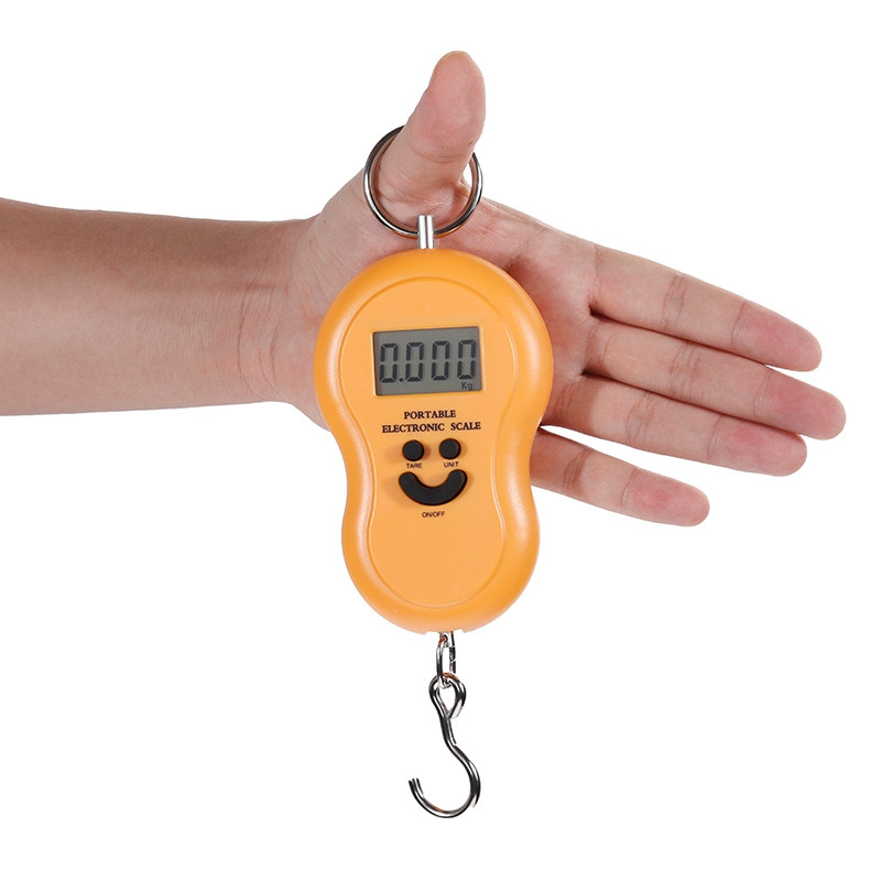Dreamyth Portable 50KG 5G LCD Digital Fish Hanging Lug Gage Weight Hook Scale