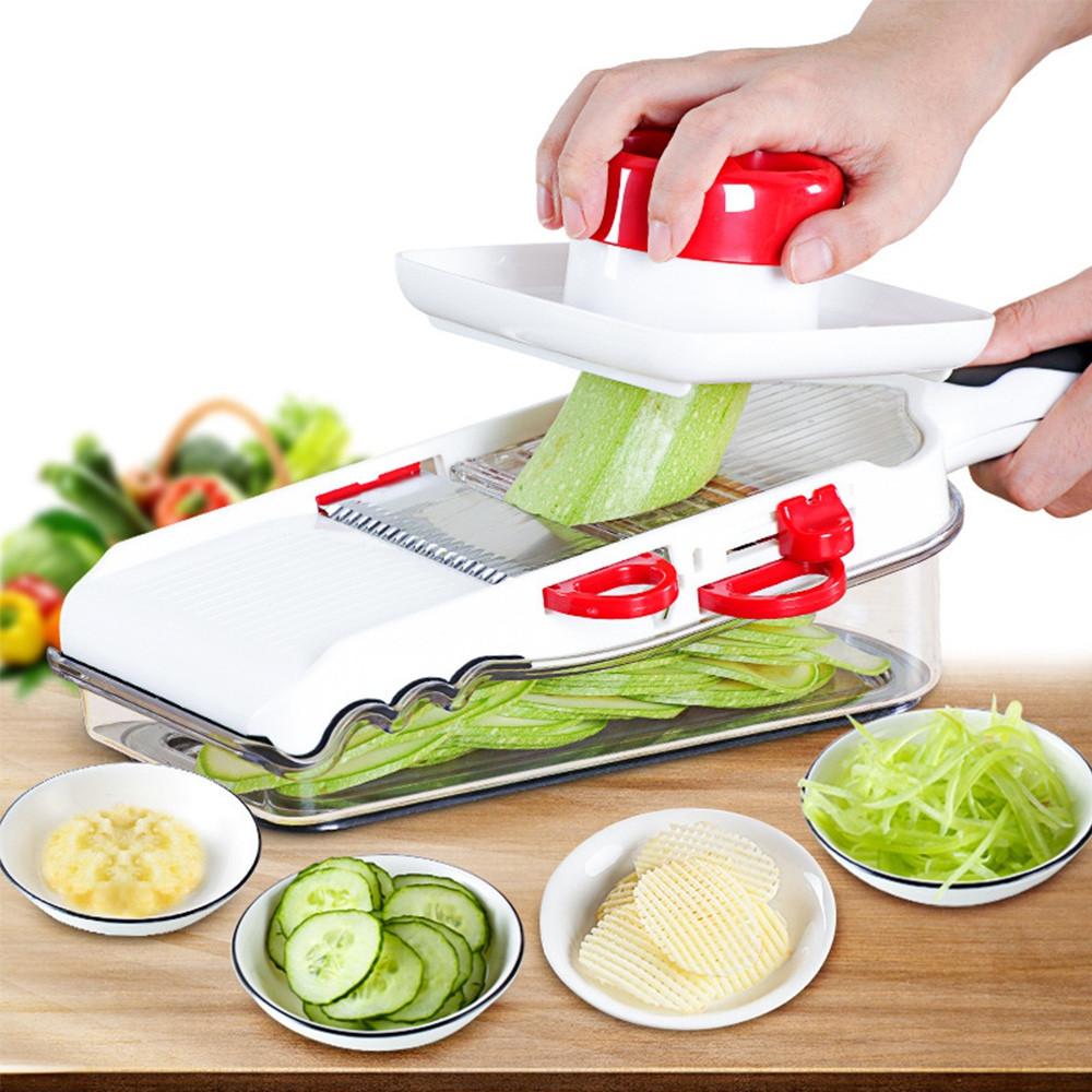 Multifunctional Onion Vegetable Chopper Slicer Dicer Cutter