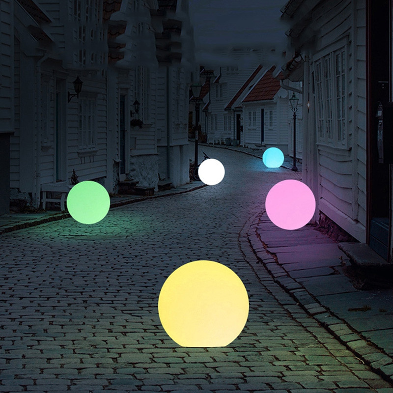 Solar LED Outdoor Waterproof Ball-shaped Light Party Weeding Yard Bar Decor