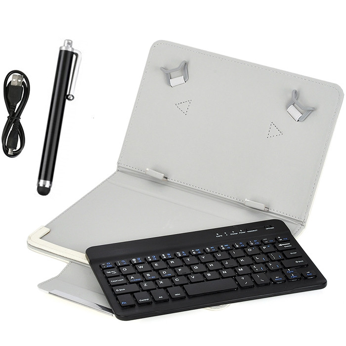 Android iOS Windows System 3-in-1 9 / 10 inch Tablet Universal Bluetooth Keyboard
