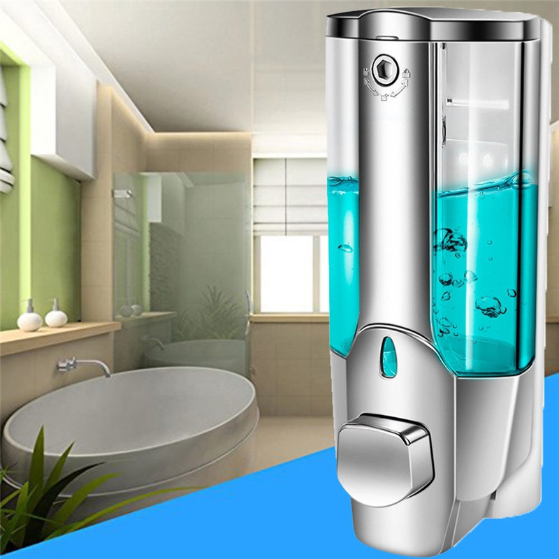 350ML Wall Mount Soap Dispenser Lotion Pump