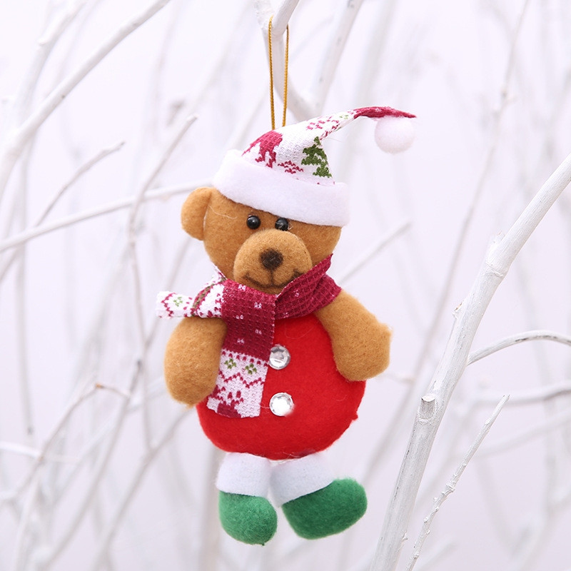 Beautiful Christmas Tree Pendants 4pcs