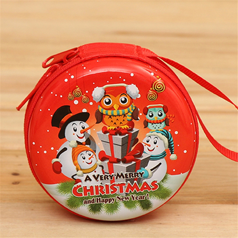 Christmas Gifts Coin Purse  Earphone Storage Bag  Tree Window Decoration Pendant