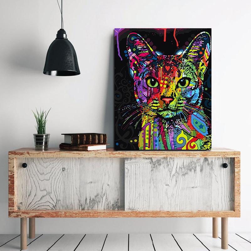 Modern Framless Canvas Print for Home Office Wallart Decoration