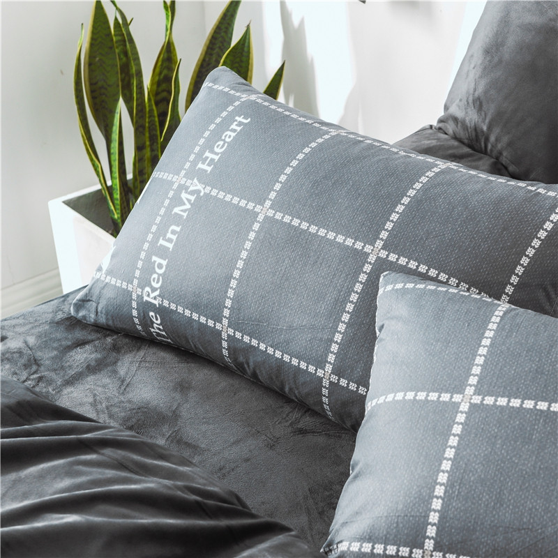 Cotton and Wool Bedding Set Eiffel Tower