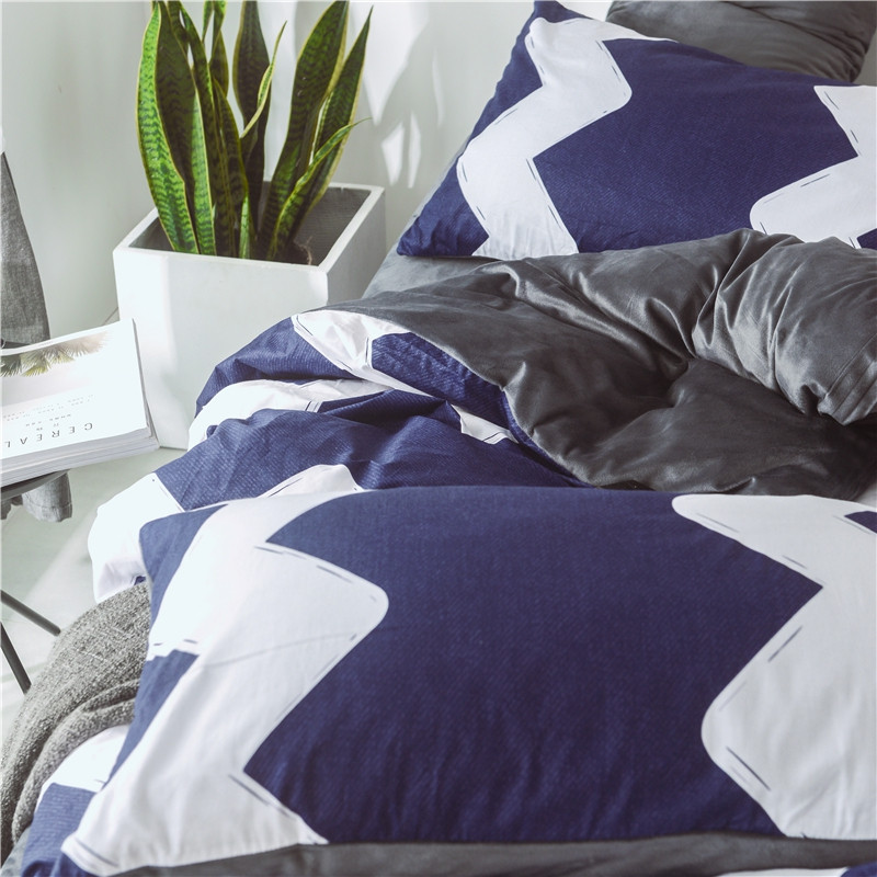 Cotton and Wool Bedding Sets-Time