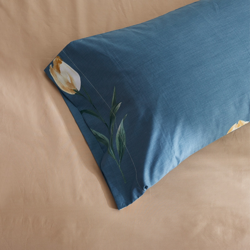 40 -Combed Cotton Bedding Sets Lily