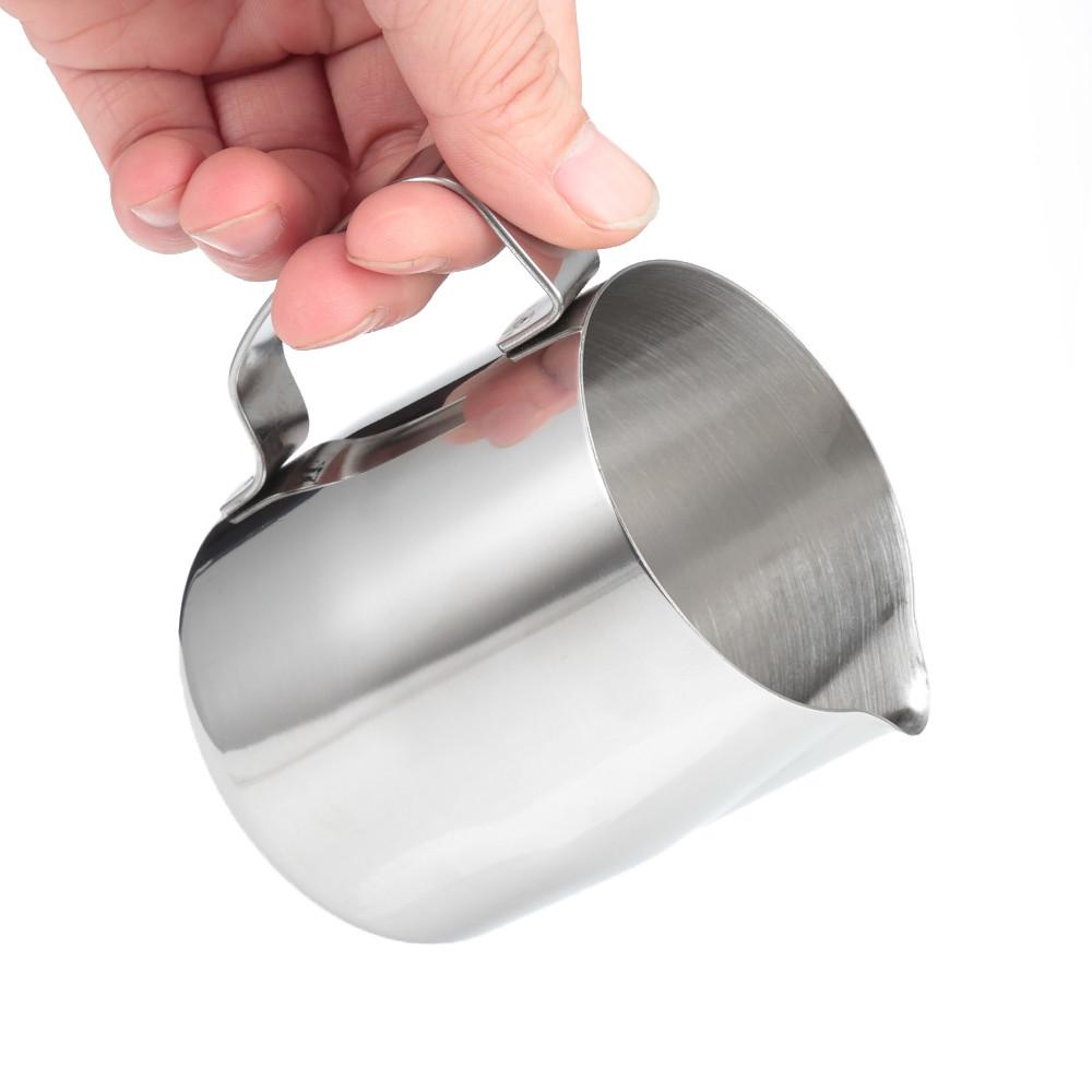 Stainless Steel Metal Beak Milk Foam Fancy Coffee Cup