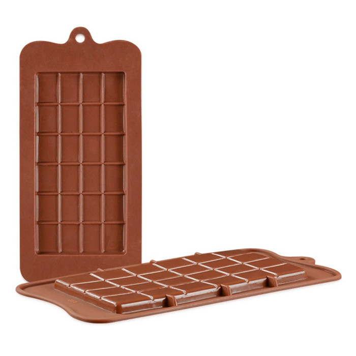 24 Square Food Grade Silicone Chocolate Mould
