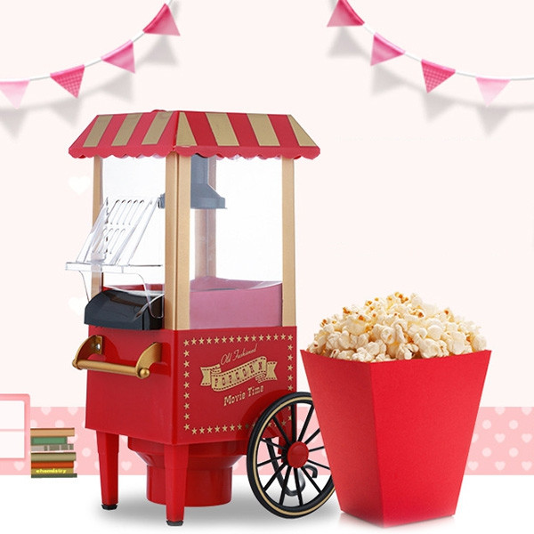 B820 Automatic Children Christmas Gift Popcorn Machine