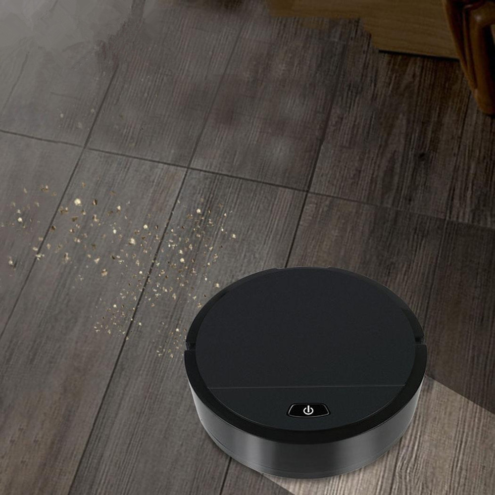 Home Automatic Smart Floor Dirt Hair Robot Vacuum Cleaner
