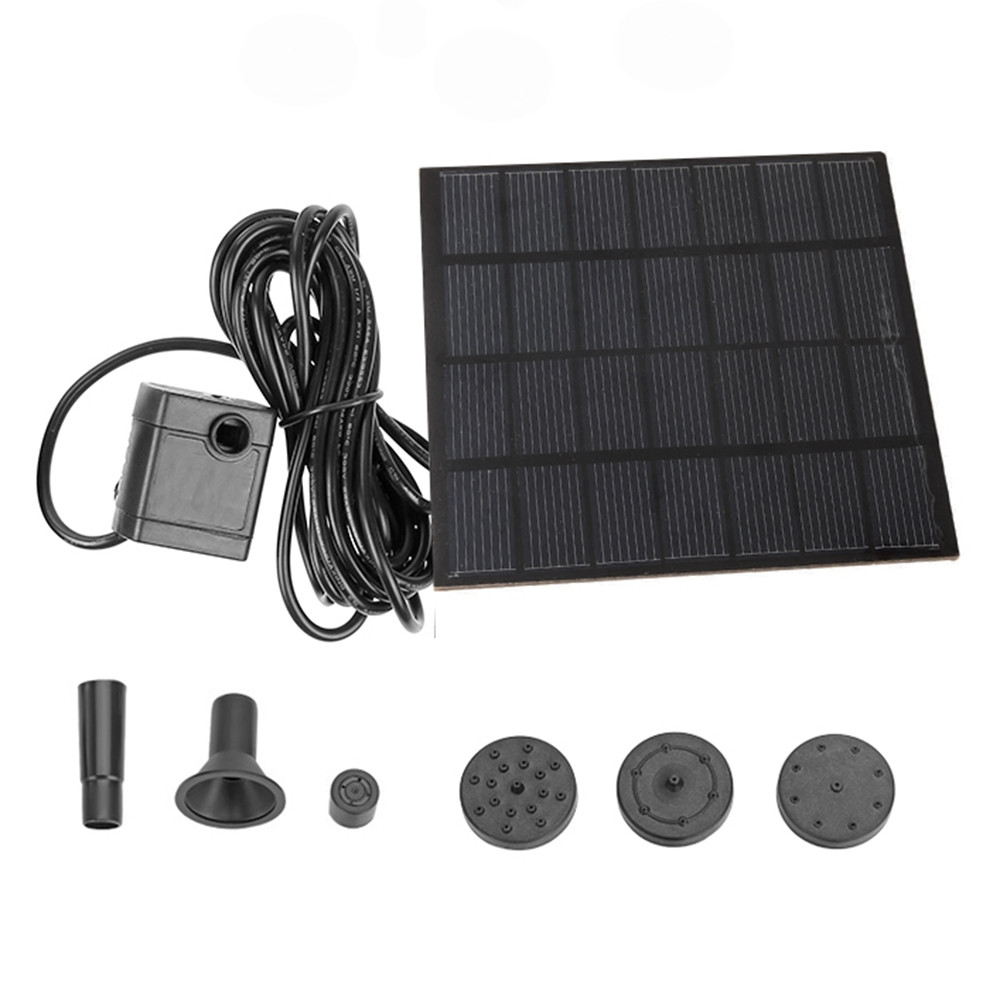 Solar Fountain Gardening Water Decoration Garden Park Brushless Water Pump