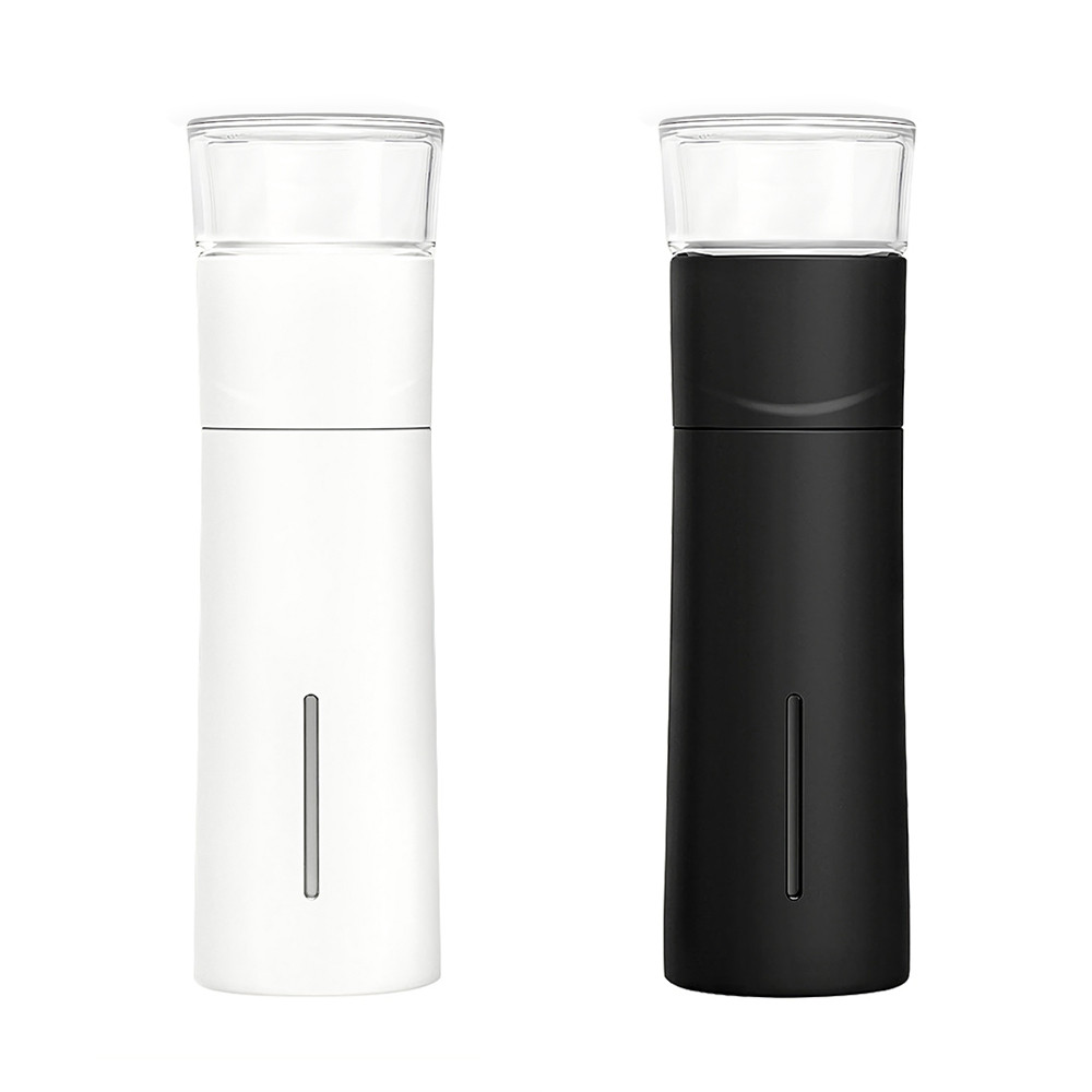 300ml Portable Bottle Tea Water Separation Accompanying Cup