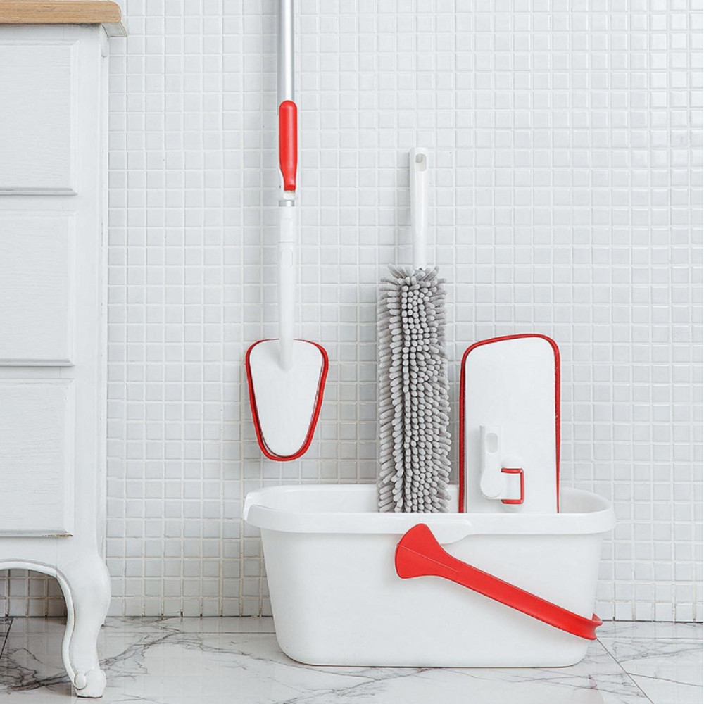 Household Cleaning Slim Flat Mop Set