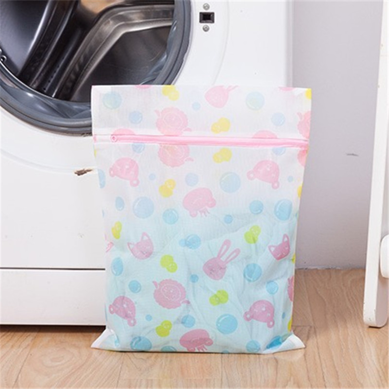 5-piece set of fine mesh laundry bag set Anti-wrap polyester mesh bag