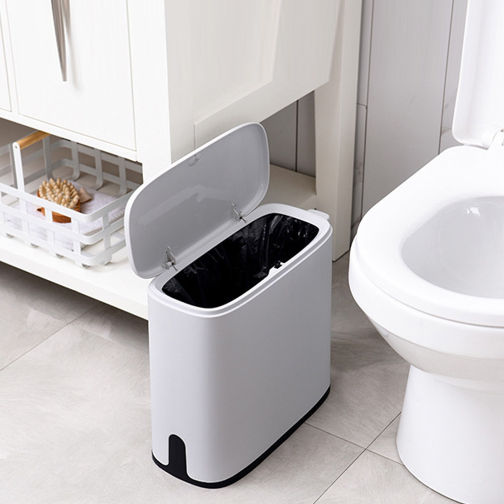 Multifunction Narrow Type Trash Can