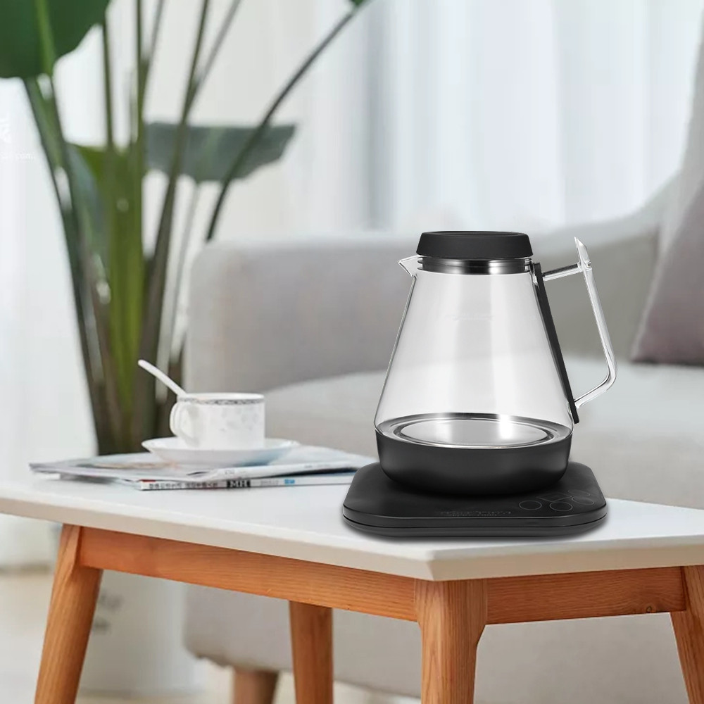 Allocacoc Smart Glass Electric Kettle Water Boiler