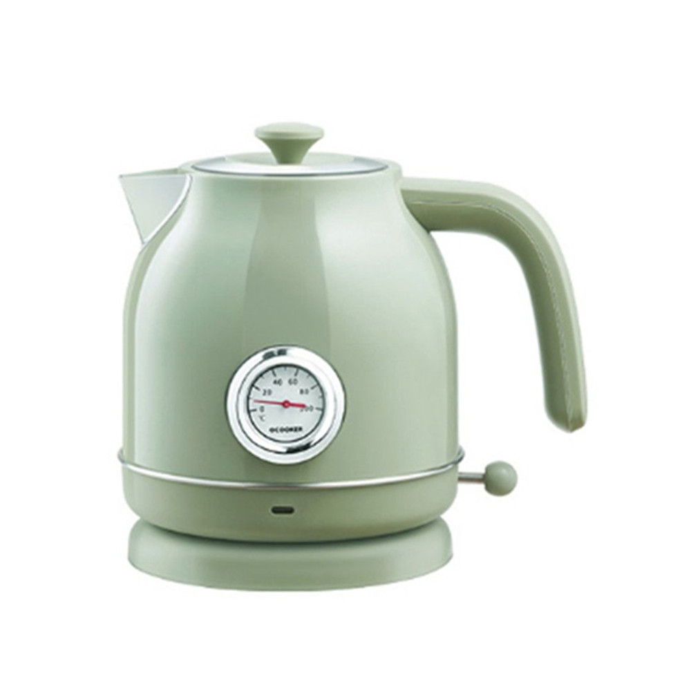 QCOOKER 1.7L / 1800W Retro Electric Kettle with Watch Thermometer Display from Xiaomi