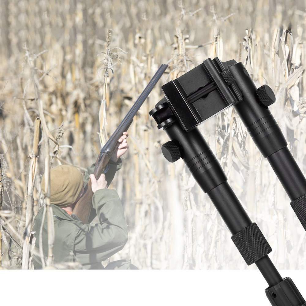 3 - 6 Inch Adjustable Spring Bipod for Hunting