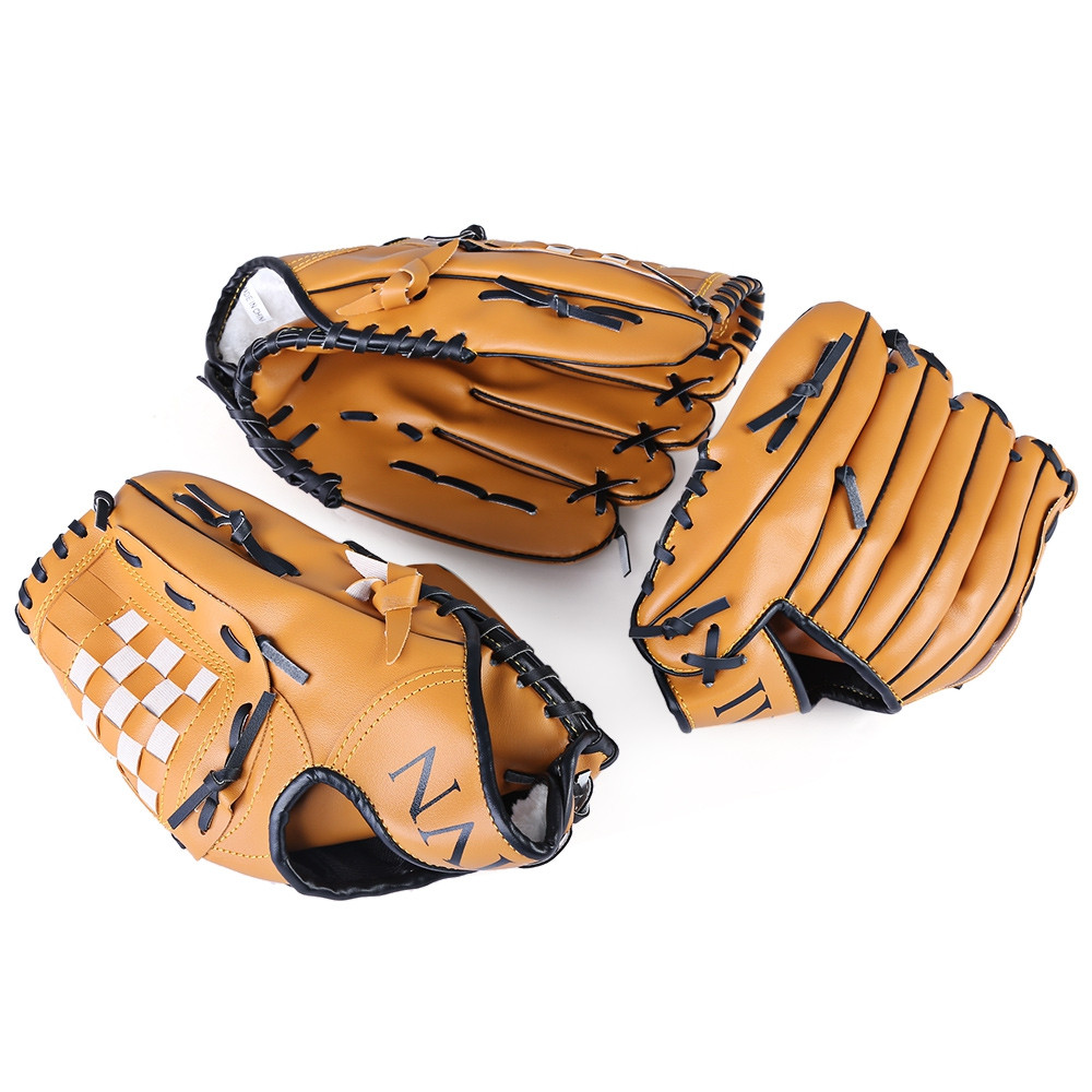 Outdoor Sports Brown Practice Left Hand Softball Equipment Baseball Glove