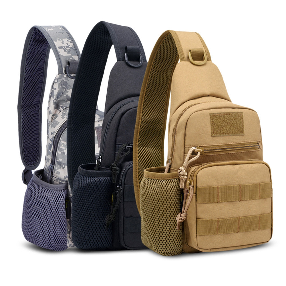 FreeKnight Tactical Molle Single Shoulder Bag Chest Pack