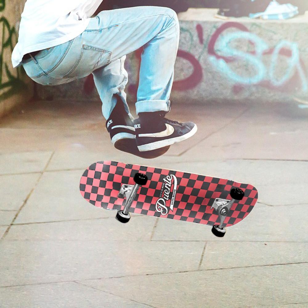 PUENTE 602 Double Snubby Maple ABEC - 9 Skateboard