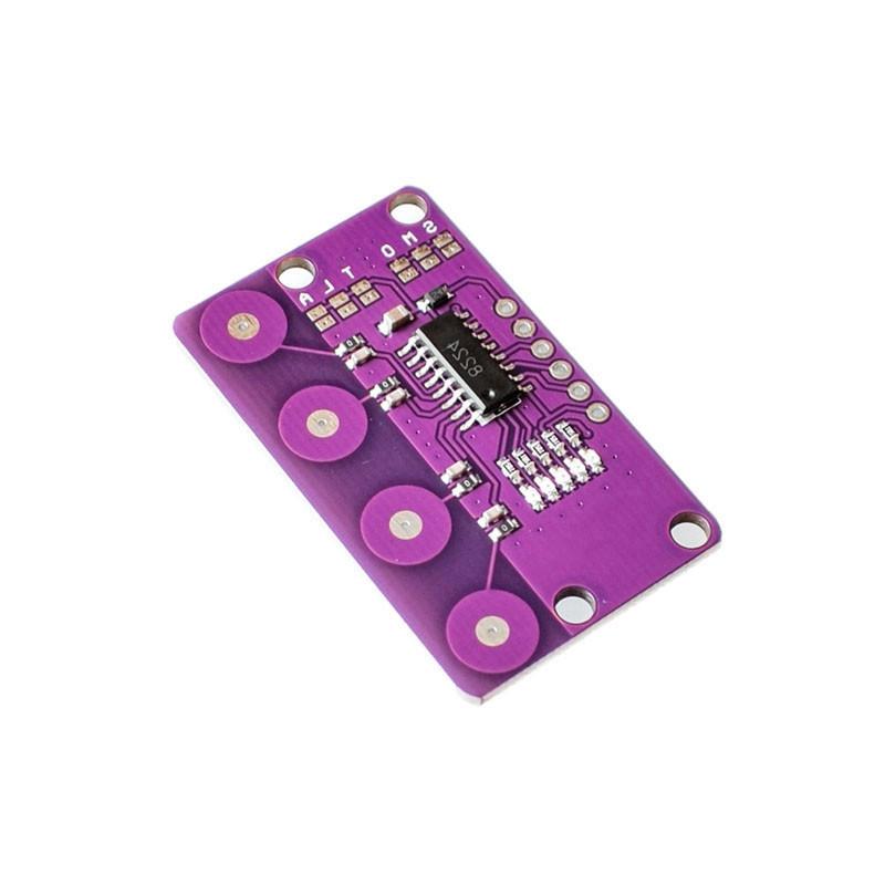 4-BIT Keypad Capacitive Touch Proximity Sensing Keyboard Module