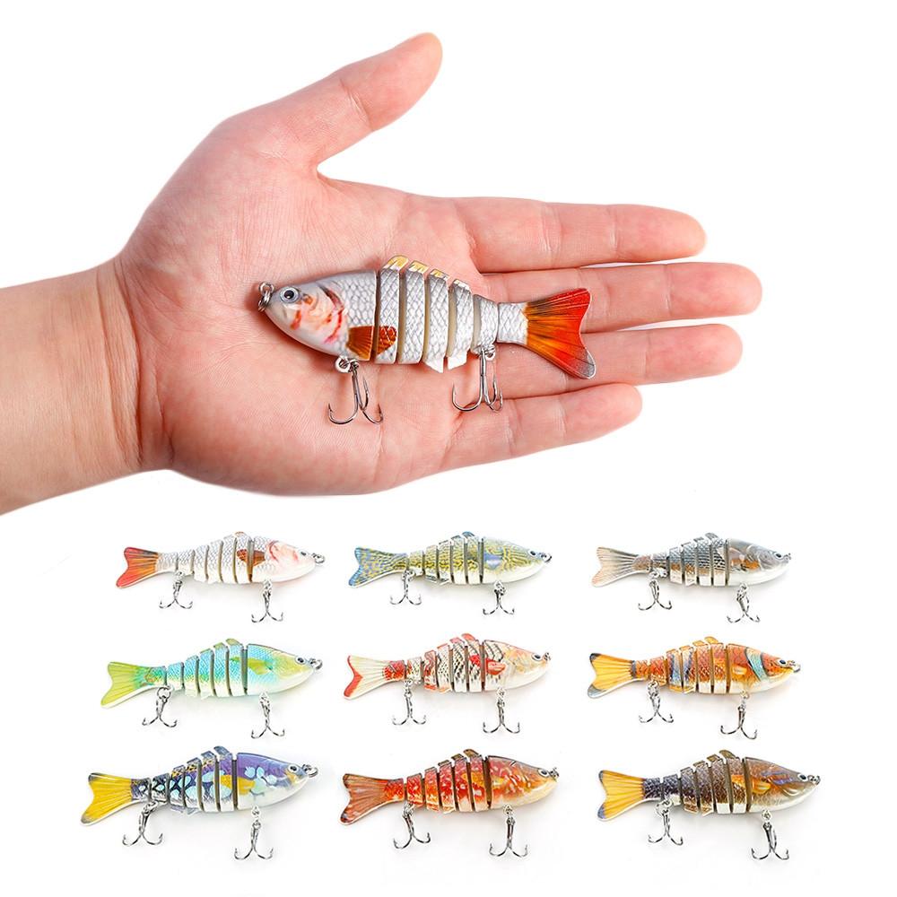 Outlife 7-segment Swimbait Crankbait Fishing Artificial Bait