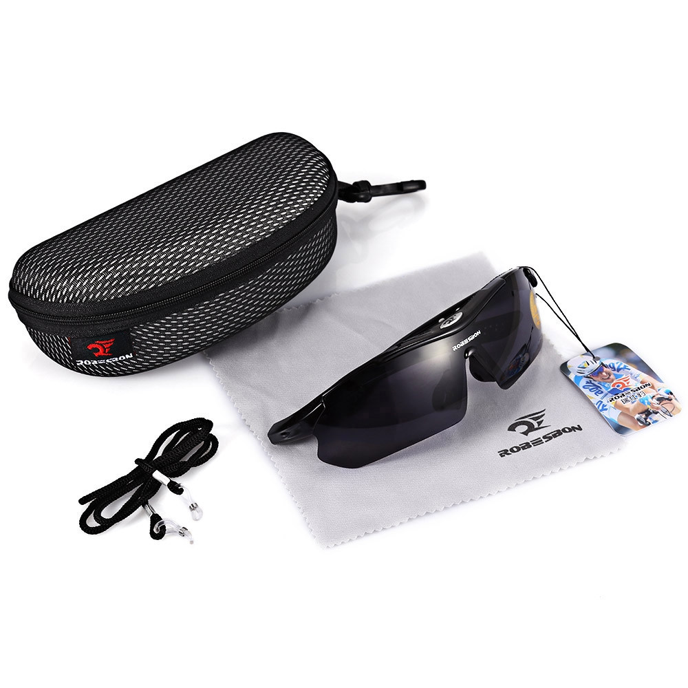 Robesbon 0089 - 1 Outdoor Cycling Glasses Bike Sunglasses