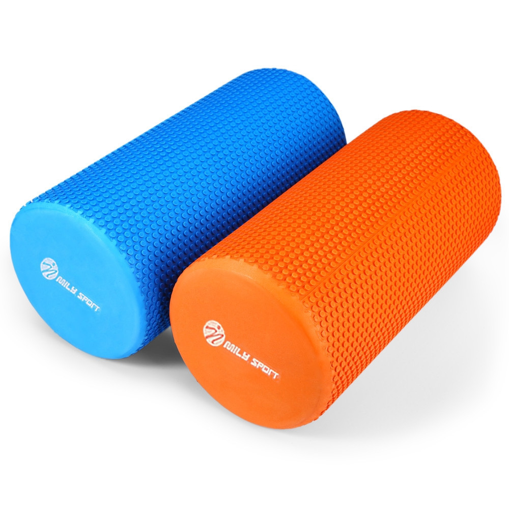 MILY SPORT 5.9 inches Eva Yoga Foam Roller Body Massage Gym Fitness