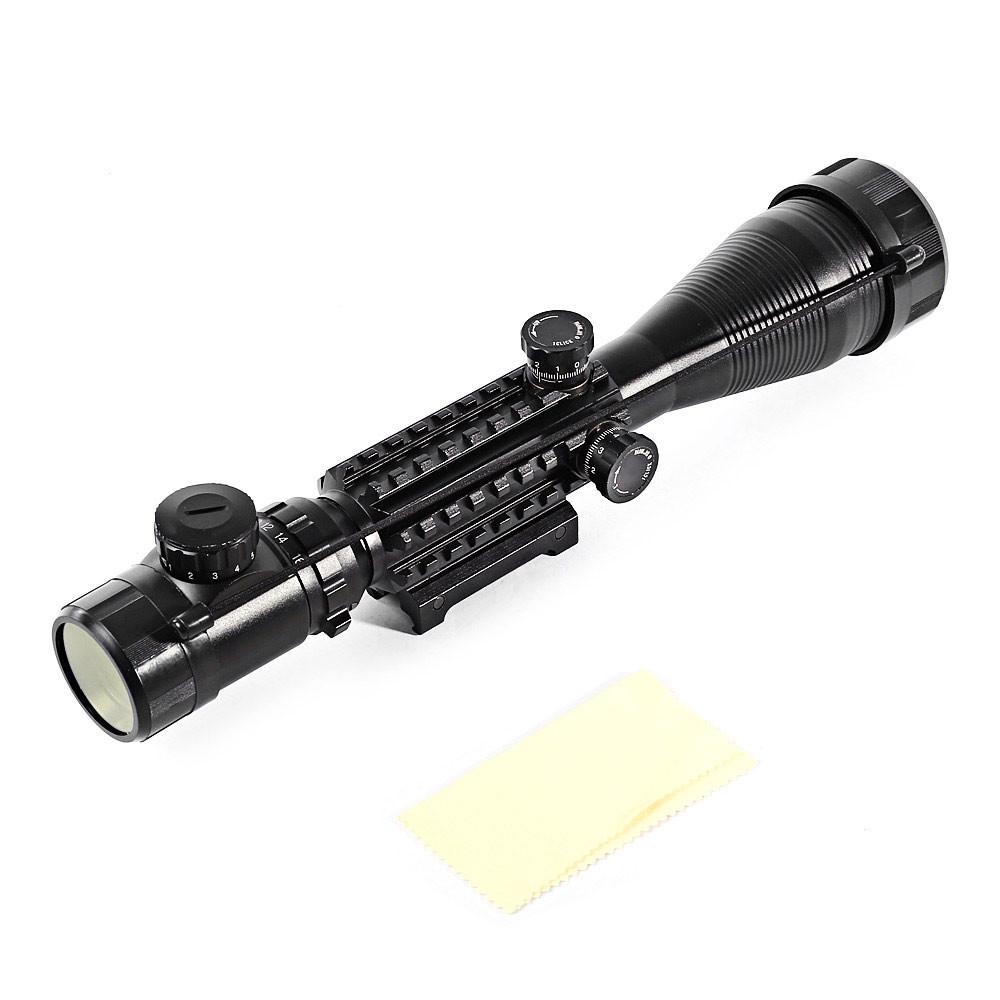 C4 - 16 X 50 EG Water Resistant Scope Laser Hunting Kit