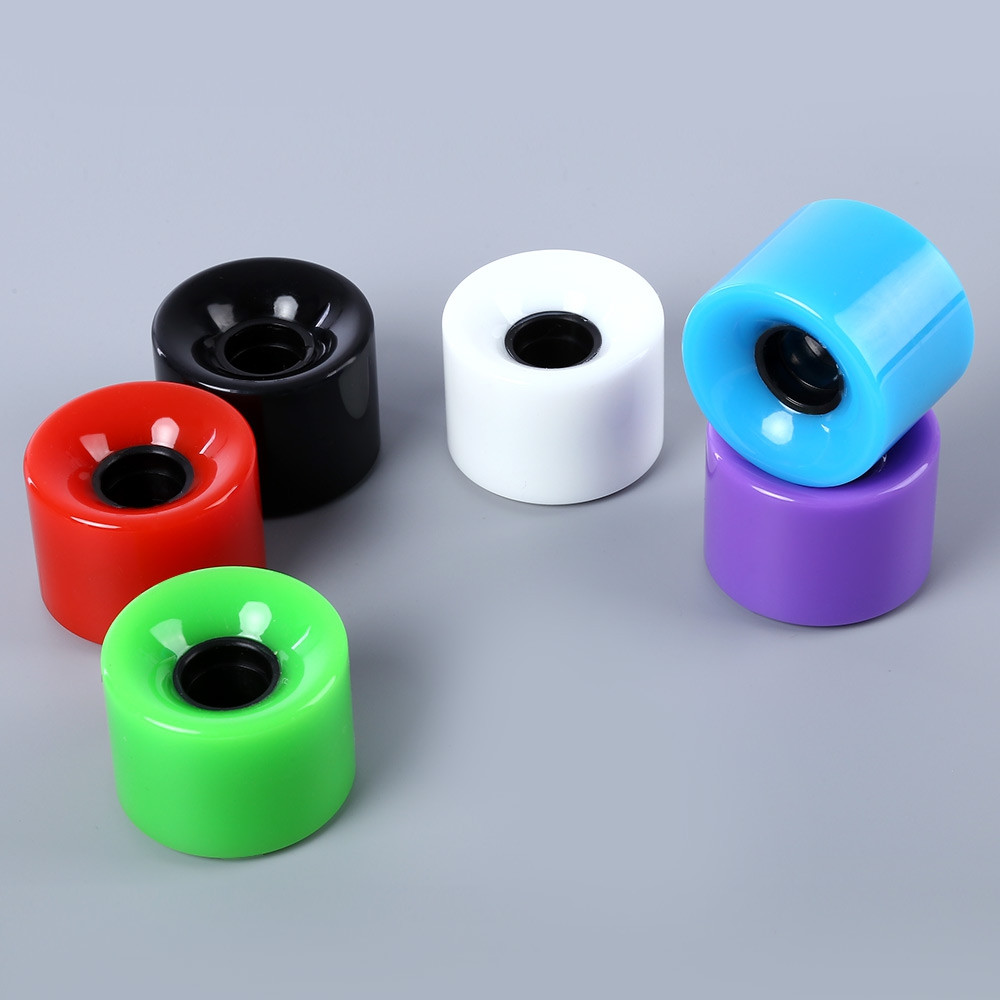 4pcs High Strength Longboard Skateboard Wheels - 60 x 45mm