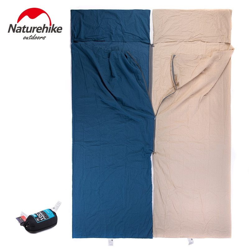 Naturehike Portable Ultra-light Cotton Widened Outdoor Liner Sleeping Bag