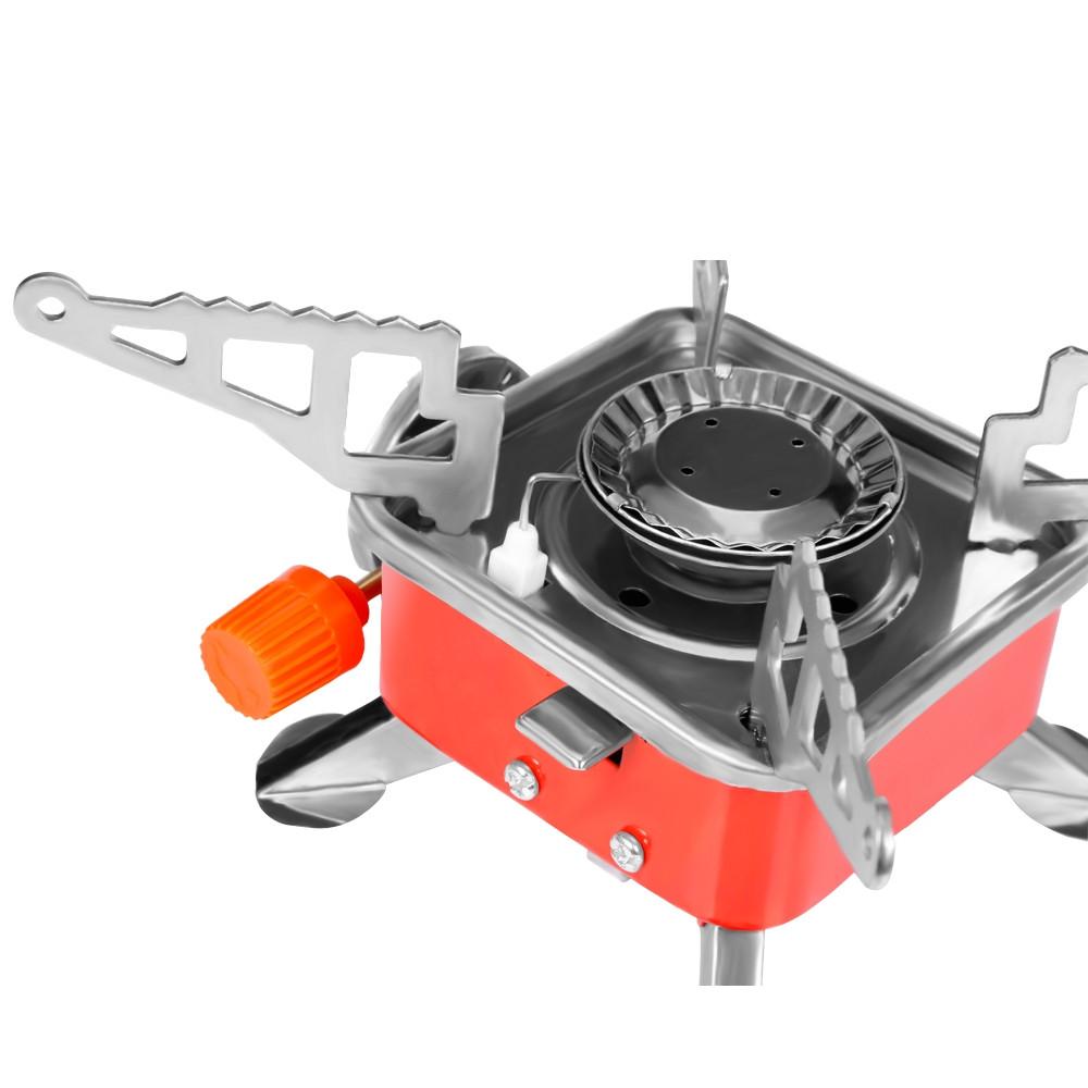Portable Card Type Campaign Butane Gas Stove Burner