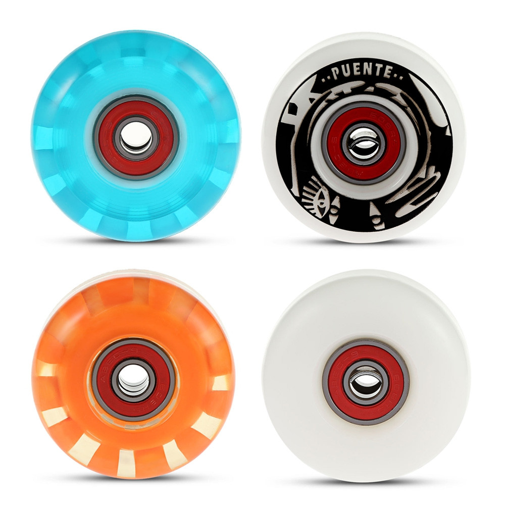 4pcs Skateboard Wheels for Ollie Punk and Jumping