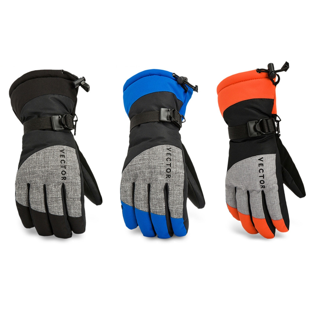 vector Windproof Water Resistant Winter Warm Skiing Snowboarding Gloves