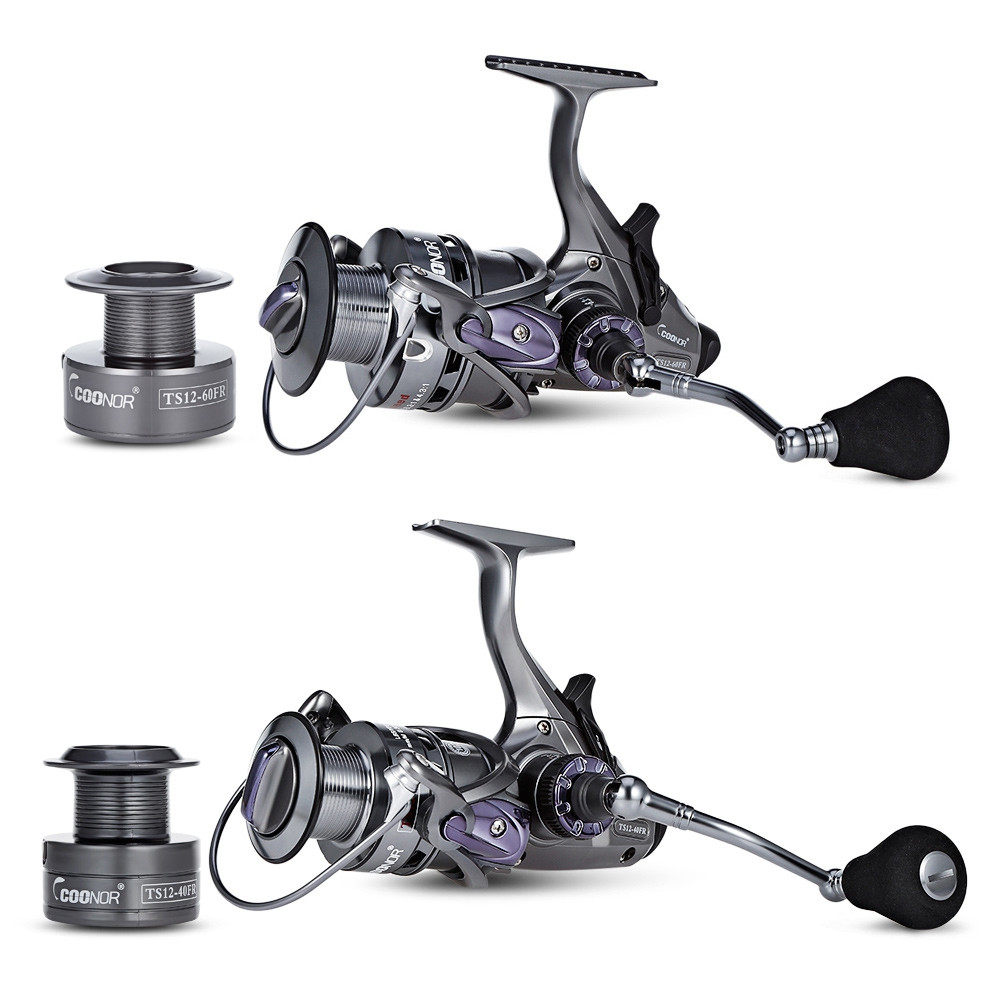 COONOR TS12 10 + 1BB 6.3:1 4.3:1 Gear Ratio Fishing Reel