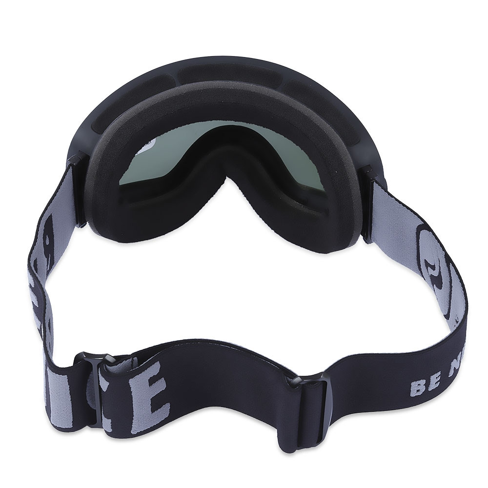 BENICE Double Lens UV400 Anti-fog Big Spherical Skiing Glasses