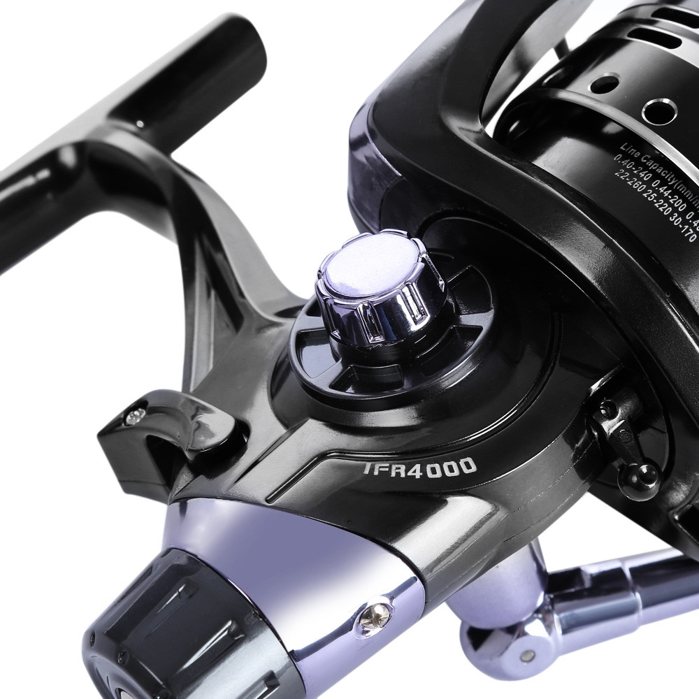 COONOR 4.7:1 Metal Spool Spinning Fishing Reel 11 + 1 Ball Bearings