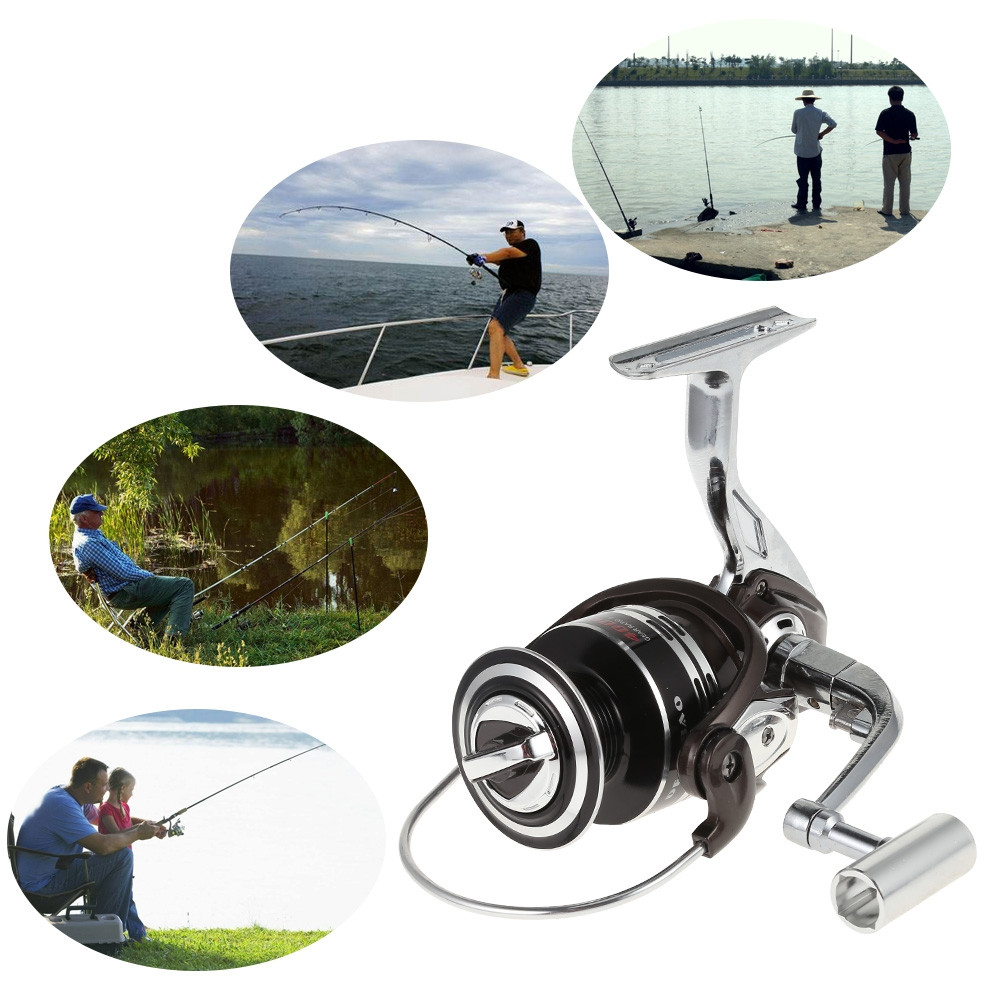 BM Series Full Metal Spinning Fishing Reel