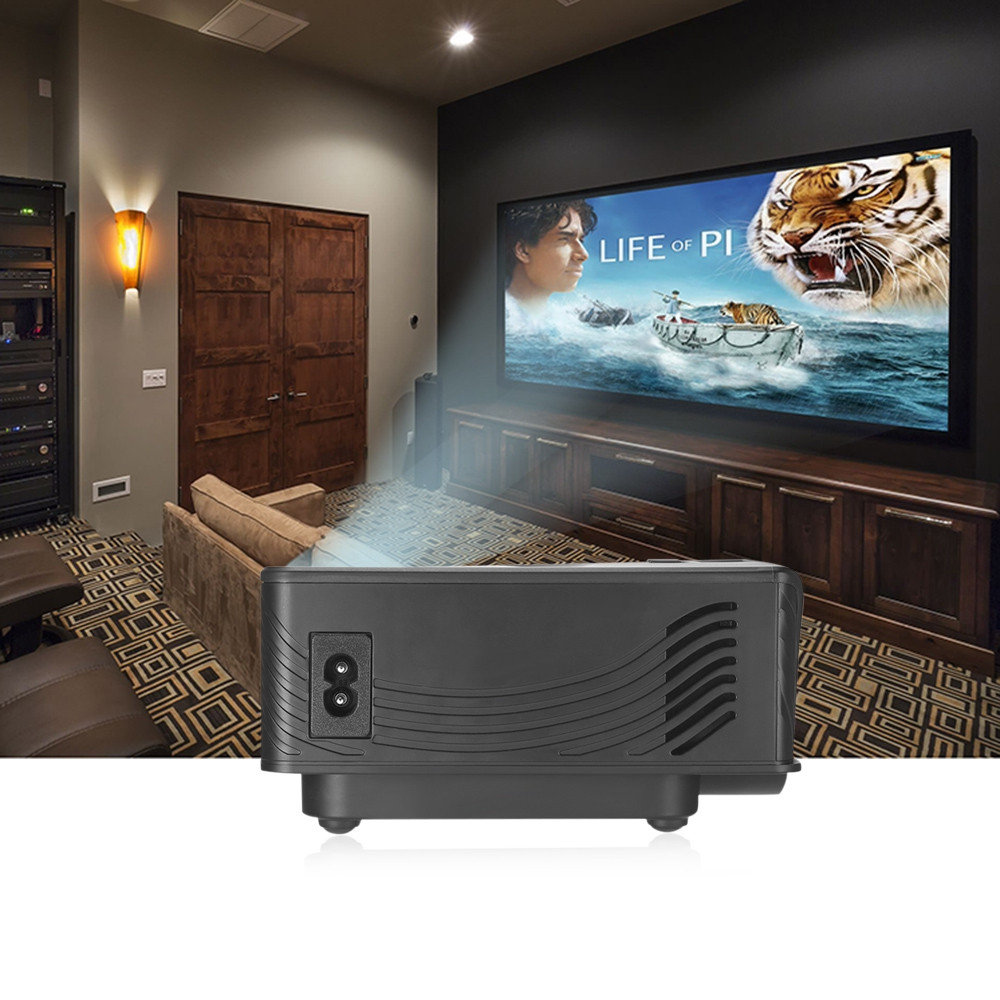 GP - 10 Video Projector 2000 Lumens 800 x 480P Support 1080P