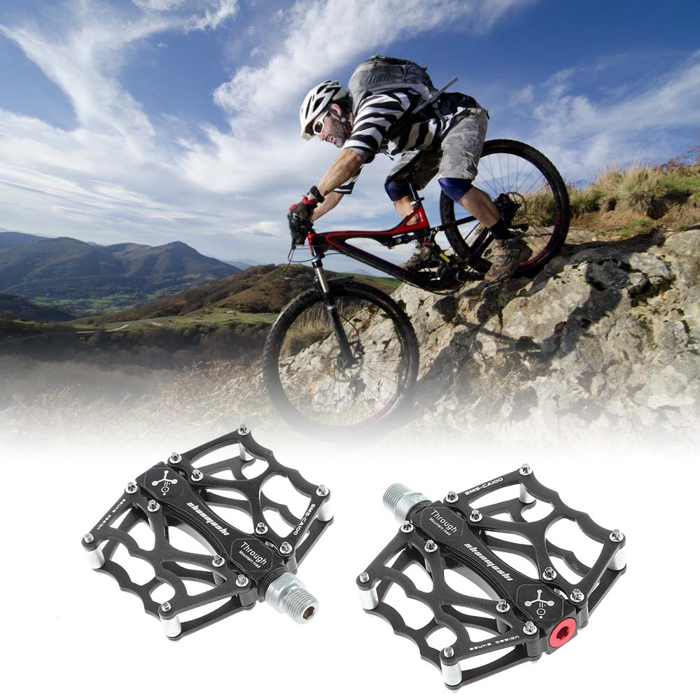 Anti-slip Aluminum Alloy Bicycle Pedals Mountain Bike Foot Rest