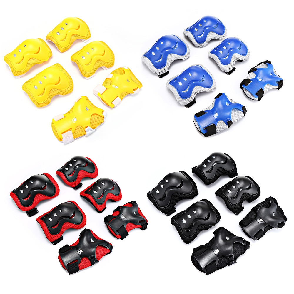 6pcs / Set Children Protective Gear Pad Roller Skateboard