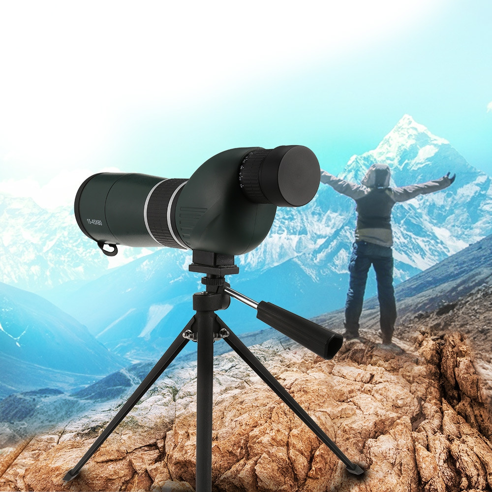 15 - 45X60 Monocular HD Telescope Optics Zoom for Wildlife Viewing