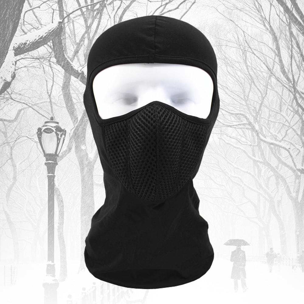 Riding Thickened Windproof Coldproof Warm Face Mask