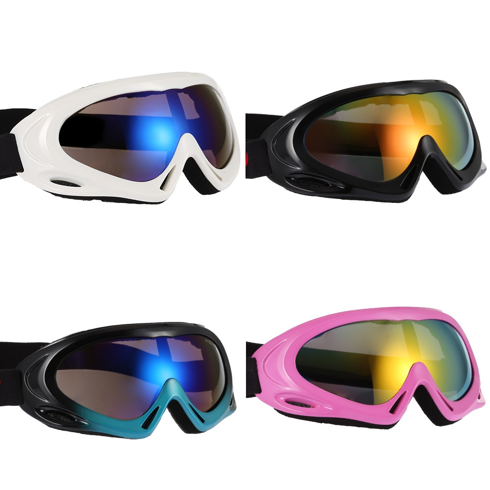 Single Layer Ski Goggles Adult Children Sports Glasses