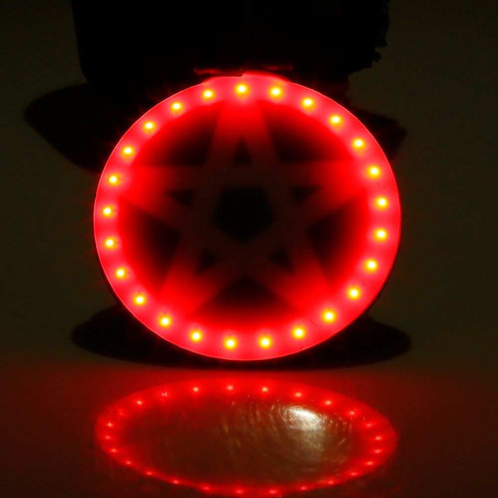 Creative USB Charging Bicycle LED Tail Light Cycling Equipment