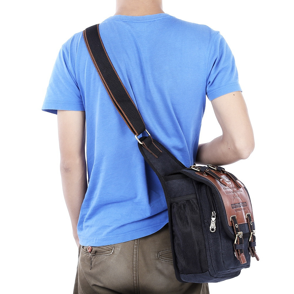 KAUKKO FH03 5L Sling Bag with Magnetic Force Buckle for Male