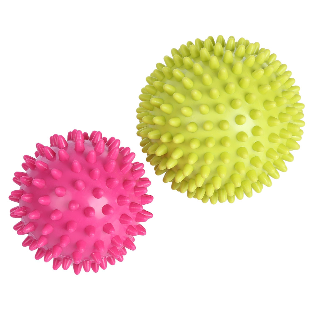 Spiky Point Massage Ball Roller Reflexology Stress Relief for Palm Foot Arm Neck Back Body